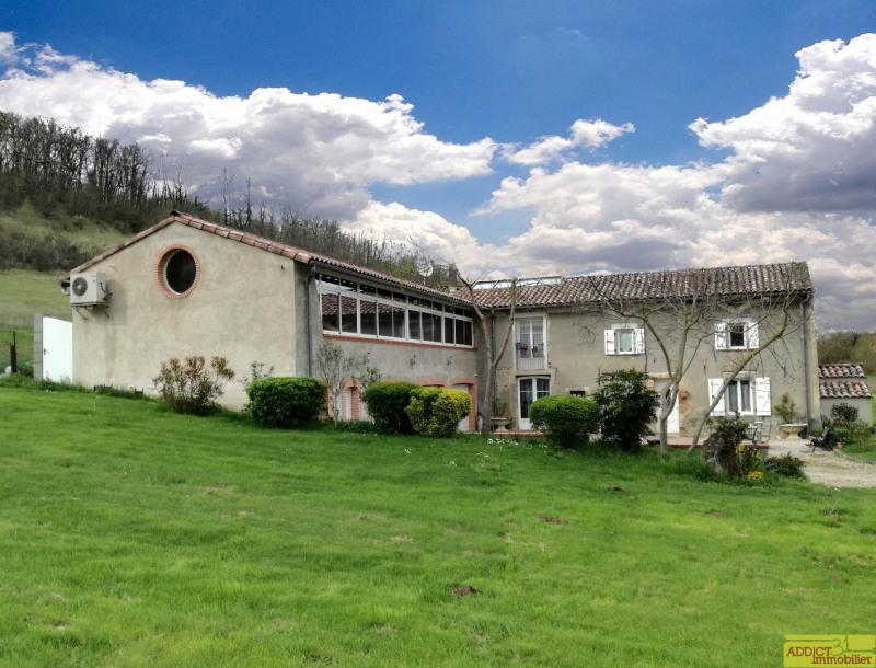 Vente maison / villa Cambon les lavaur 428000€ - Photo 1