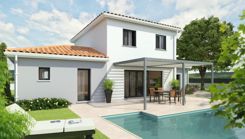 Maison  4 pièces + Terrain 1000 m² Montrabé par CELIA CREATION