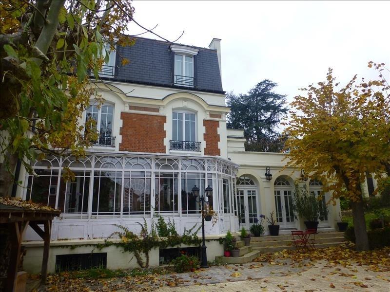 Verkauf von luxusobjekt haus Villennes sur seine 1495000€ - Fotografie 1