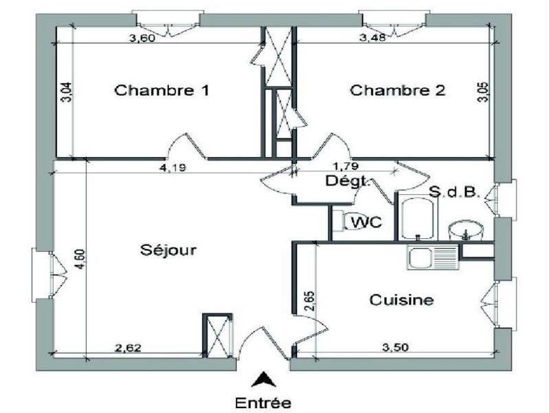 Location appartement Villefranche sur saone 487€ CC - Photo 5