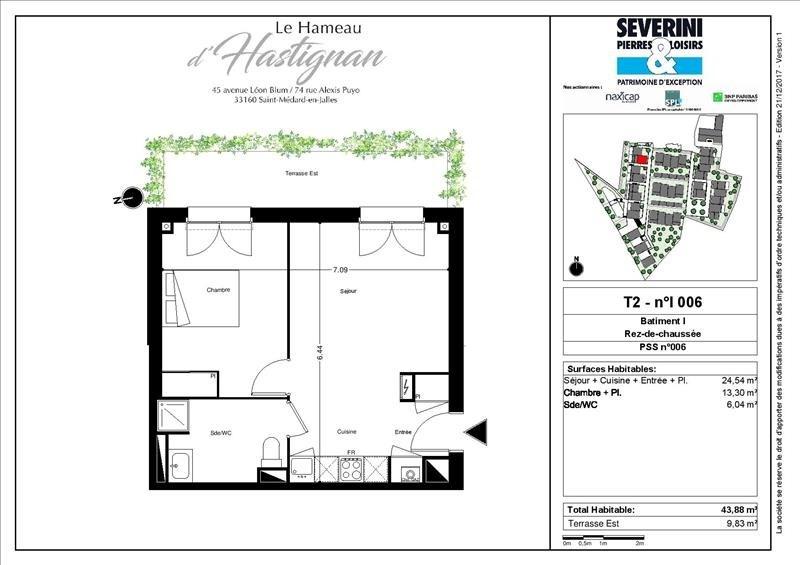 Vente appartement St medard en jalles 202300€ - Photo 3