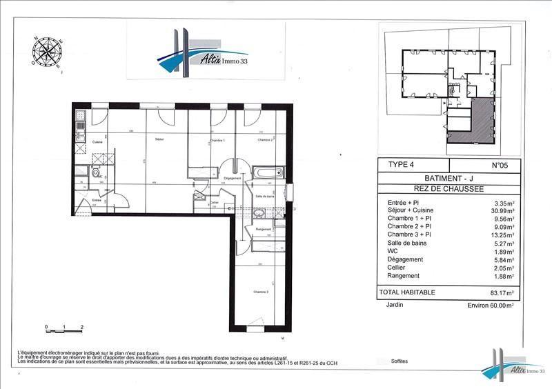 Vente appartement Carbon blanc 208950€ - Photo 2