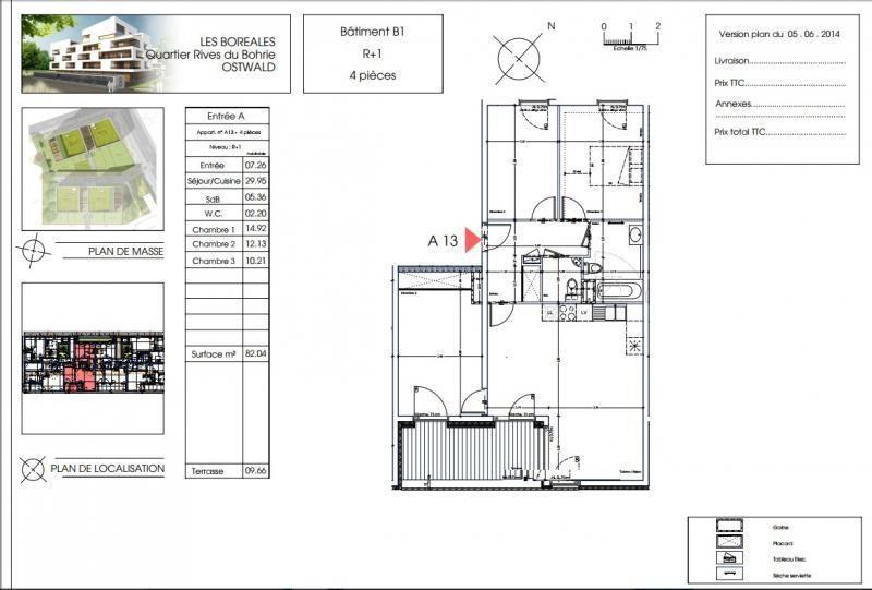 Vente appartement Ostwald 279400€ - Photo 2