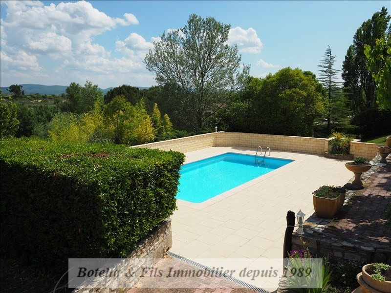 Venta  casa Barjac 442000€ - Fotografía 3