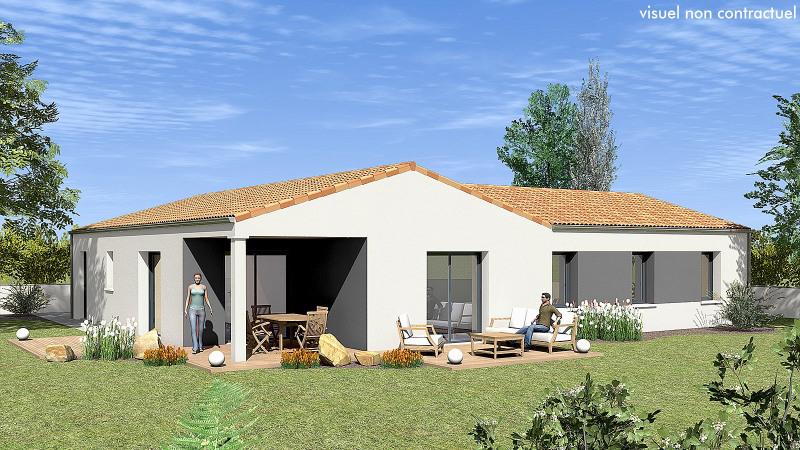"""Modèle de maison  """"Spacieuse et confortable"""" à partir de 4 pièces Charente-Maritime par MAISONS DU MARAIS - AGENCE DE NIORT"""