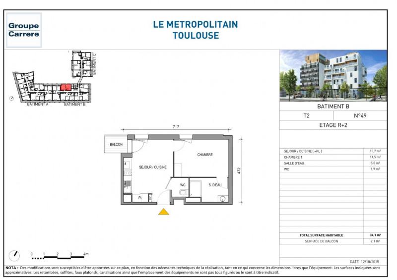 Location appartement Toulouse 576€ CC - Photo 4