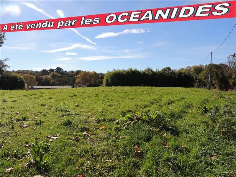 Vente terrain St martin de seignanx 212000€ - Photo 1