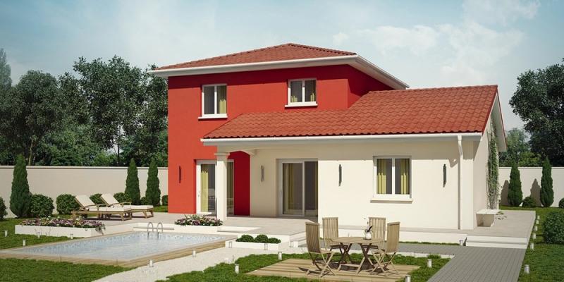 Maison  5 pièces + Terrain 600 m² Polliat par DEMEURES CALADOISES