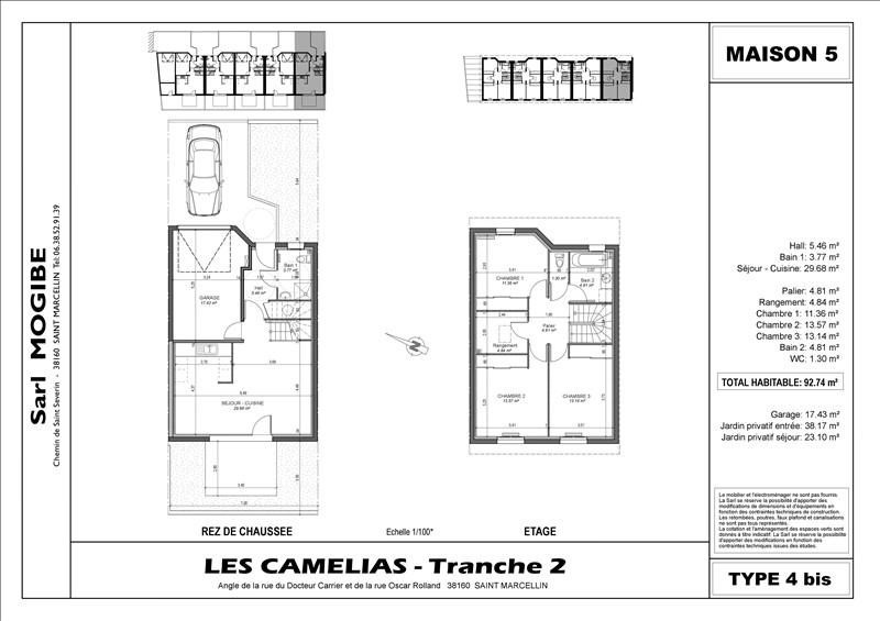 Vendita casa Saint-marcellin 238000€ - Fotografia 1