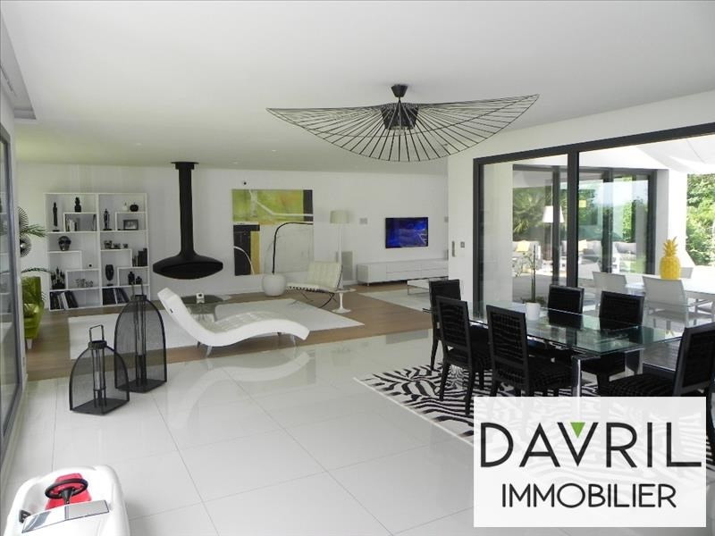 Revenda residencial de prestígio casa Andresy 1470000€ - Fotografia 2
