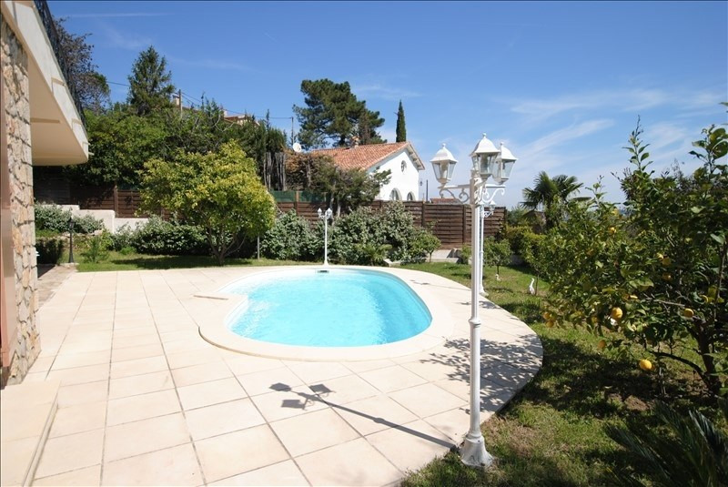 Vente de prestige maison / villa Mandelieu-la-napoule 1260000€ - Photo 2