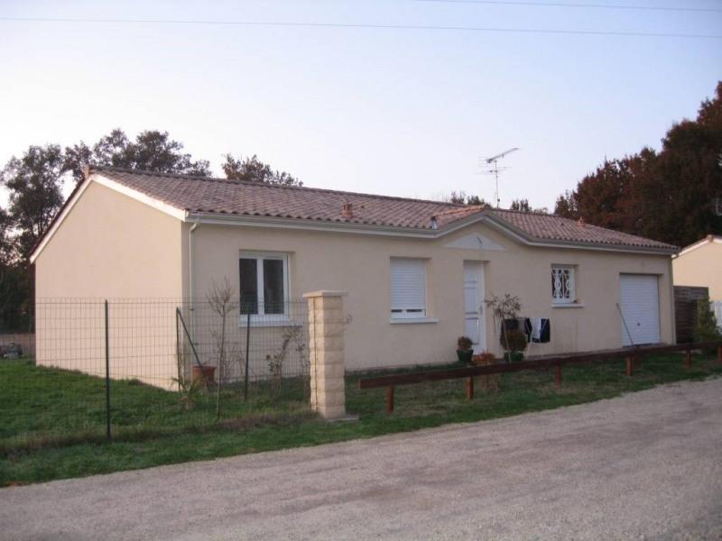 Location maison / villa Moulis-en-medoc 803€ CC - Photo 1