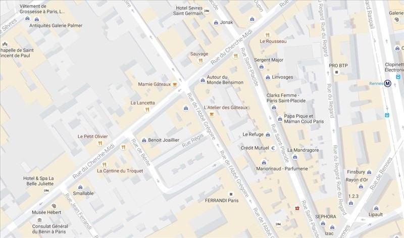 Location Local commercial Paris 6ème 0