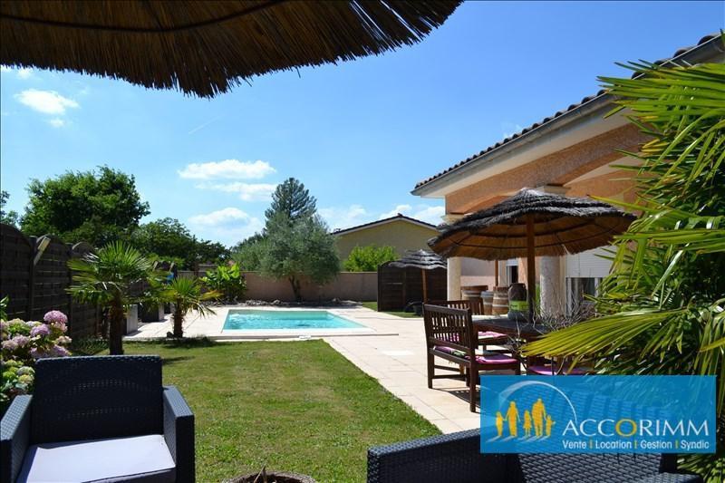 Deluxe sale house / villa Toussieu 610000€ - Picture 2