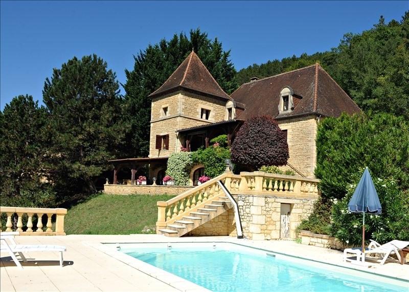 Sale house / villa Bezenac 499000€ - Picture 1