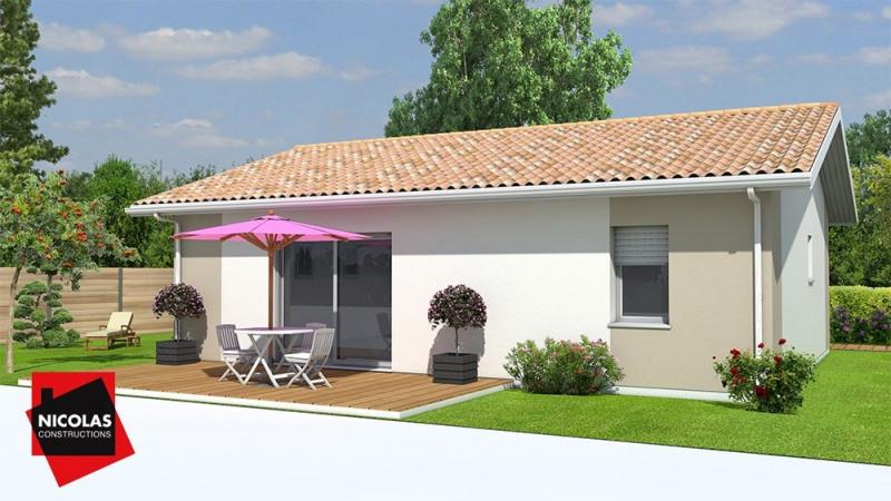Maison  4 pièces + Terrain Soussans par NICOLAS CONSTRUCTION