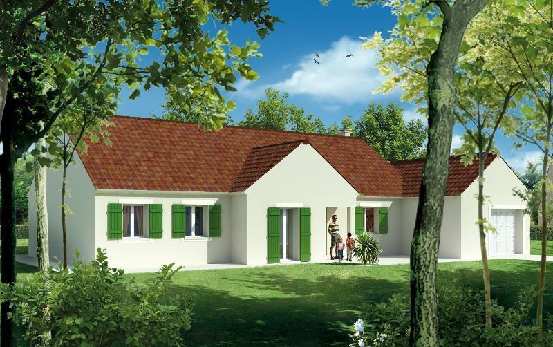 Maison  4 pièces + Terrain 2500 m² Saint Léger Dubosq par maisons pierre