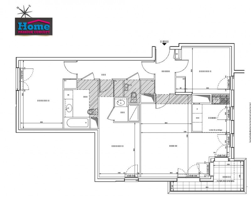 Sale apartment Rueil malmaison 656000€ - Picture 2