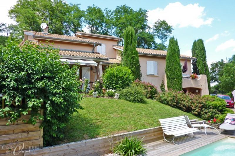 Deluxe sale house / villa Lissieu 475000€ - Picture 1