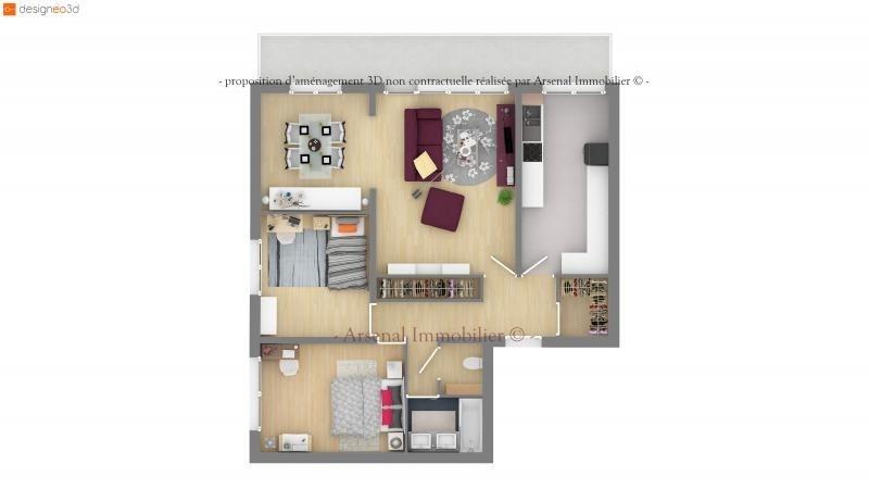 Sale apartment Metz 125900€ - Picture 3