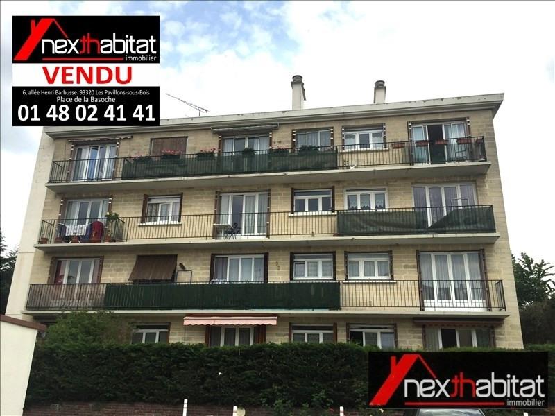 Vente appartement Les pavillons sous bois 140000€ - Photo 1