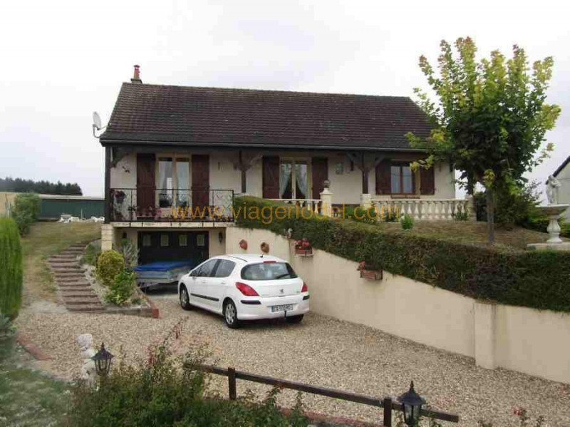 Vendita nell' vitalizio di vita casa Villegouin 45000€ - Fotografia 3