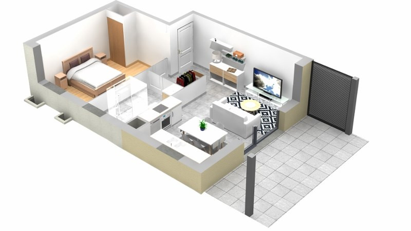 Vente appartement Villaz 198000€ - Photo 5