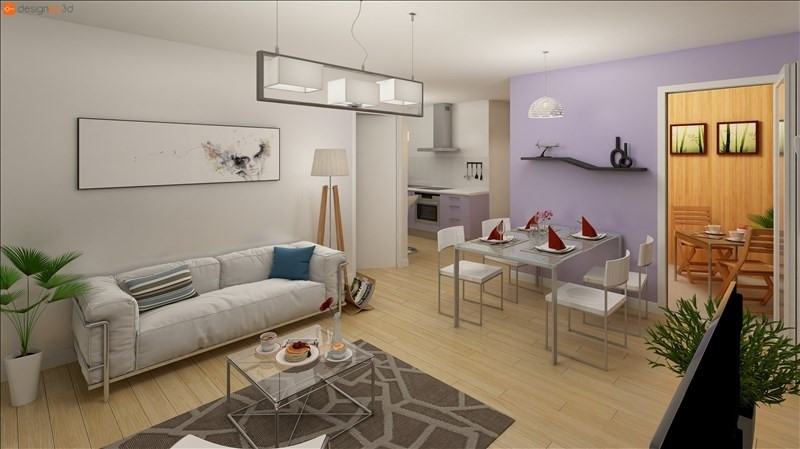 Investment property apartment Nantes 175100€ - Picture 2