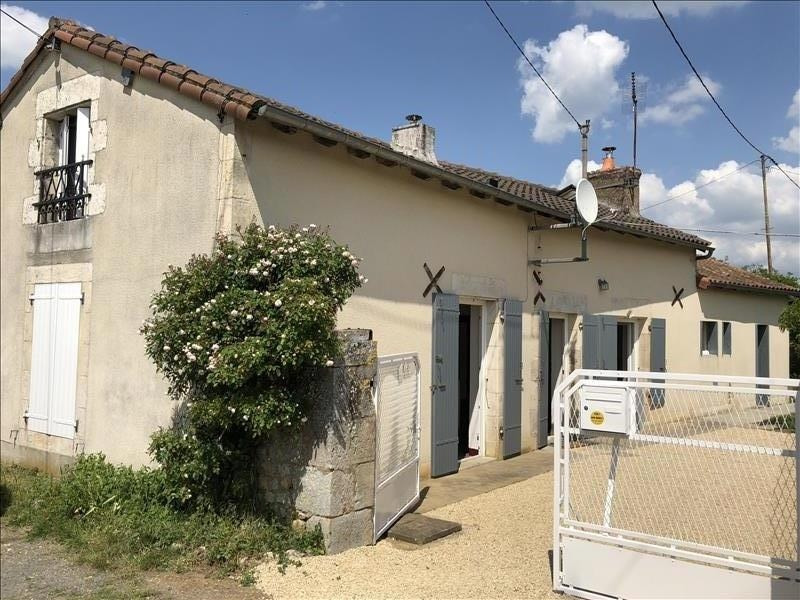 Vente maison / villa Bonnes 138000€ - Photo 1