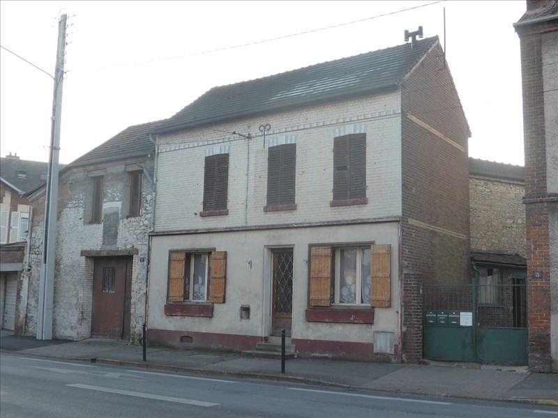Sale house / villa Crepy en valois 148000€ - Picture 1