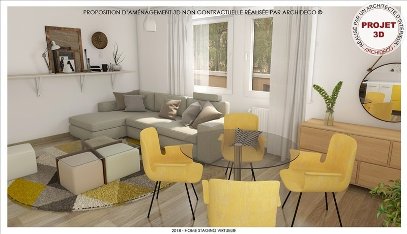 Revenda apartamento Metz 125000€ - Fotografia 3