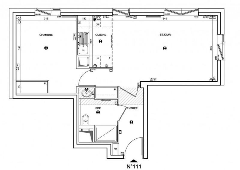 Vente appartement Boulogne-billancourt 456000€ - Photo 1