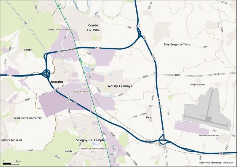 Location Local d'activités / Entrepôt Moissy-Cramayel 0