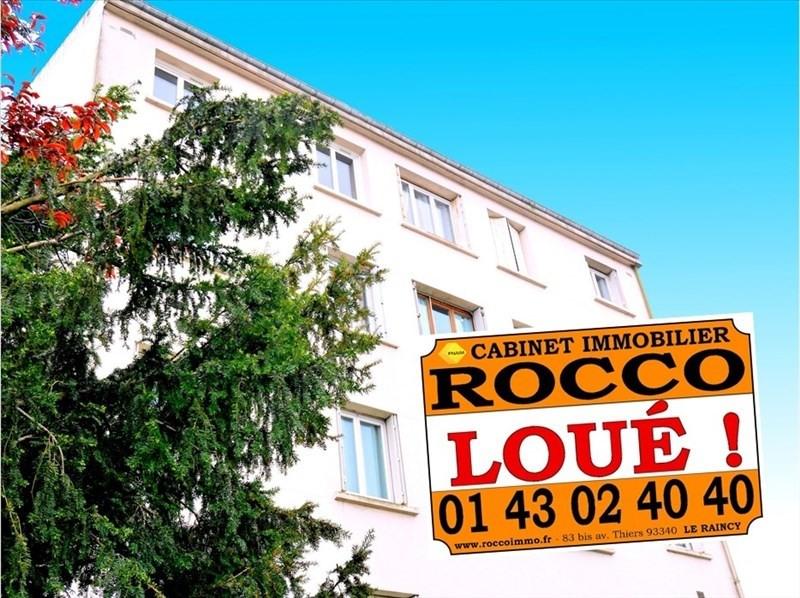 Rental apartment Le raincy 990€ CC - Picture 1