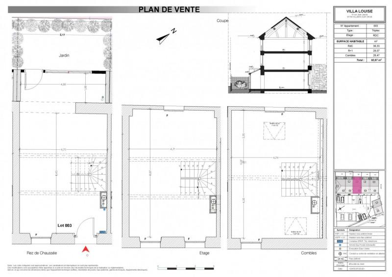 Sale house / villa Villiers sur orge 211120€ - Picture 2