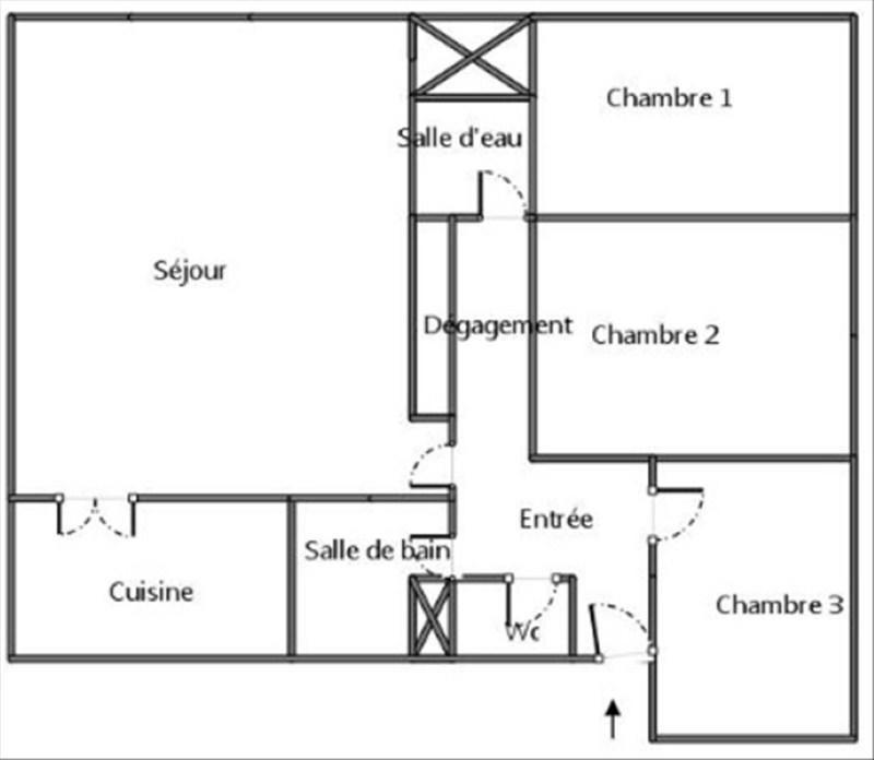 Vente appartement Valenton 137000€ - Photo 9