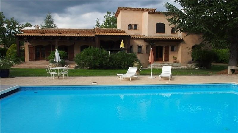 Vente de prestige maison / villa Saint cezaire sur siagne 599550€ - Photo 1