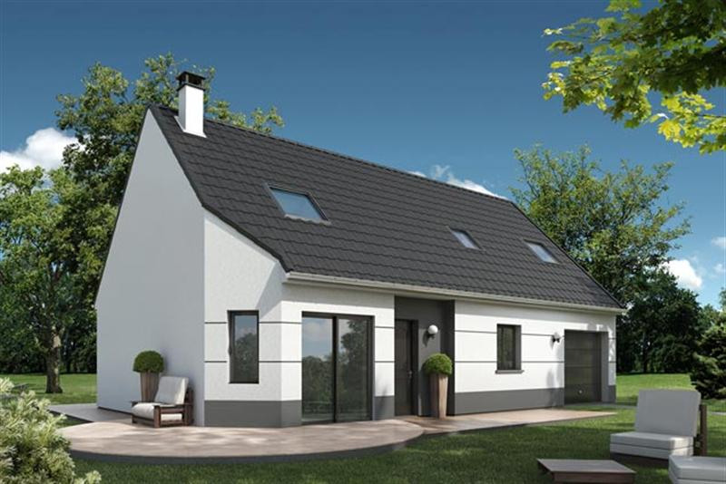 Maison  4 pièces + Terrain 2000 m² Ecretteville Lès Baons (76190) par EXTRACO CREATION