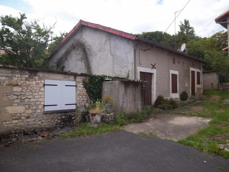 Vente maison / villa Civaux 55 000€ - Photo 1