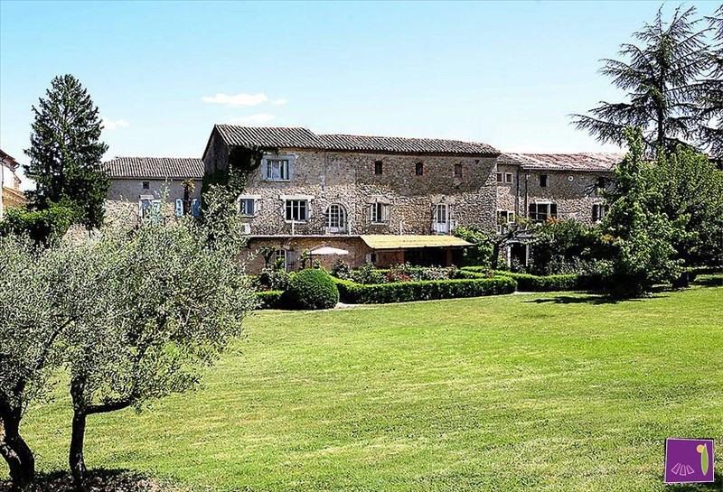 Vente de prestige maison / villa Barjac 599000€ - Photo 1