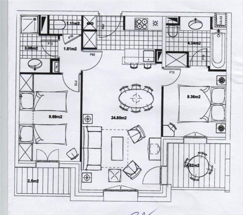 Vente de prestige appartement Les arcs 330000€ - Photo 6
