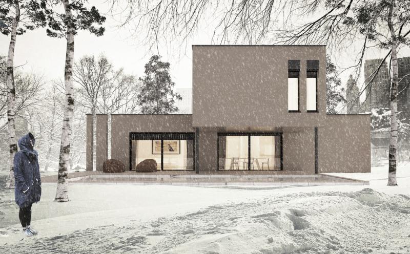"""Modèle de maison  """"Ephy - Villa 121 m²"""" à partir de 6 pièces Rhône par NEHOME HABITATION"""
