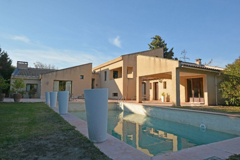 Revenda residencial de prestígio casa Morieres les avignon 655000€ - Fotografia 1