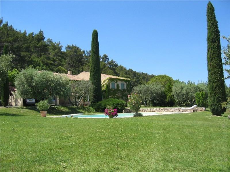 Deluxe sale house / villa Lourmarin 1180100€ - Picture 2