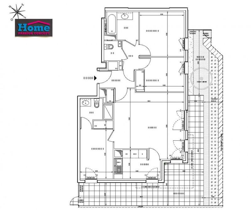 Sale apartment Rueil malmaison 591000€ - Picture 2