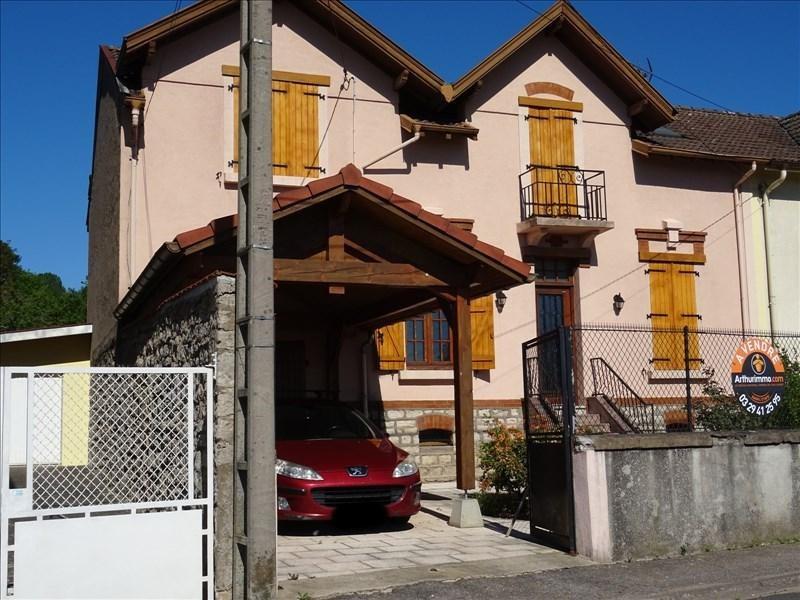 Vente maison / villa Baccarat 152000€ - Photo 1