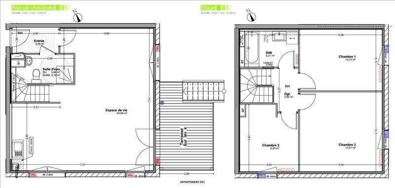 Sale house / villa Vetraz monthoux 492000€ - Picture 6