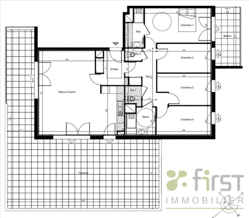 Venta  apartamento Annemasse 465000€ - Fotografía 3