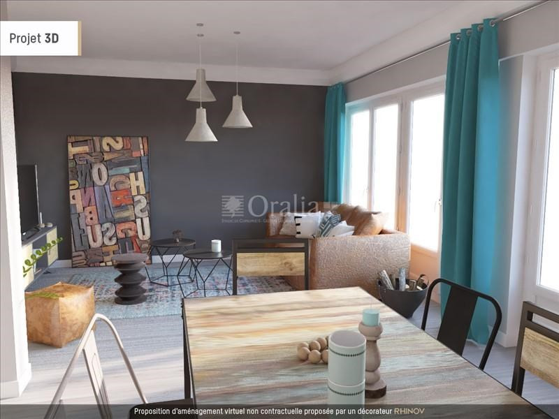 Vente appartement Echirolles 149 000€ - Photo 1