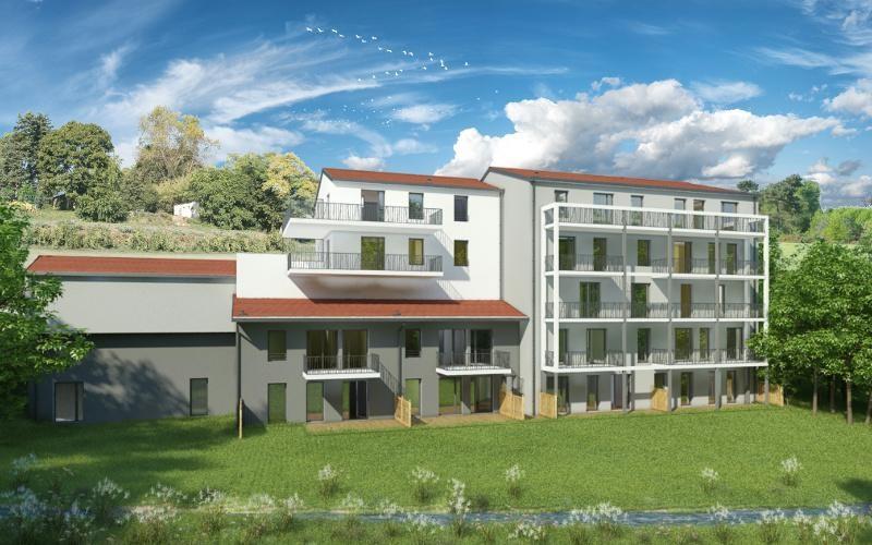 Th tre et jardins programme immobilier neuf vienne for Jardin 38200
